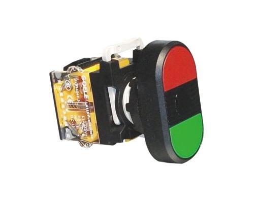 NP115 - B1 - 11R Nút nhấn đôi không đèn